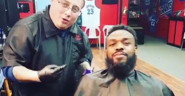 Jon Jones's Barber